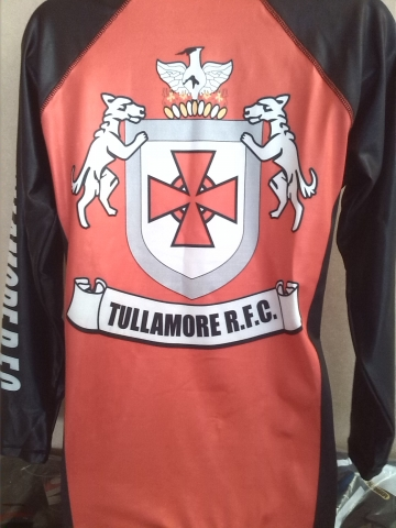Tullamore Rugby Club Base Layer Back